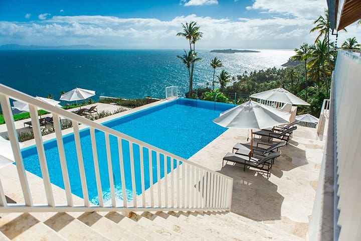 Beautiful Ocean Front one bedroom apartment - VM - Las Galeras - Apartemen