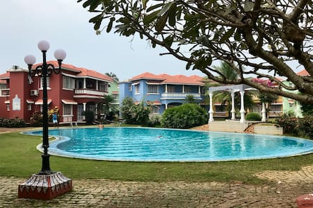 Homely, picturesque apartment, 5min walk to  beach
