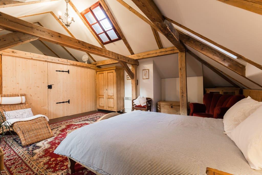 Bedroom, fully A/C