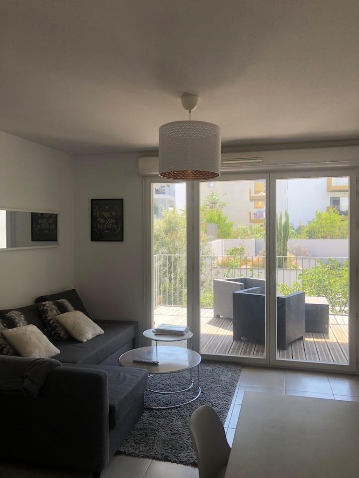Appartement centre ville - Bordeaux avec terrasse