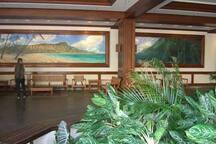Waikiki Banyan lobby.