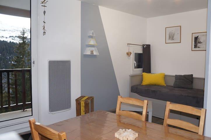 appartement Flaine Forêt plein sud refait a neuf - Arâches-la-Frasse - Appartement