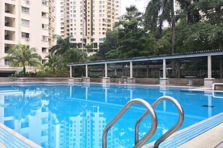 PENTHOUSE! Big Space, 5BR, UnlimitedWifi 100Mbps! - Kuala Lumpur - Társasház