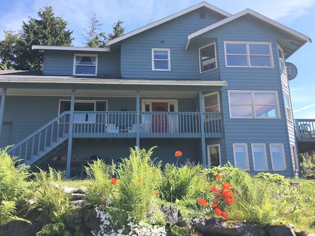 Ocean Mountain View - Private Bedroom(s) - Sitka - House