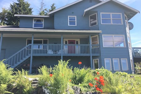 Ocean Mountain View - Private Bedroom(s) - Sitka