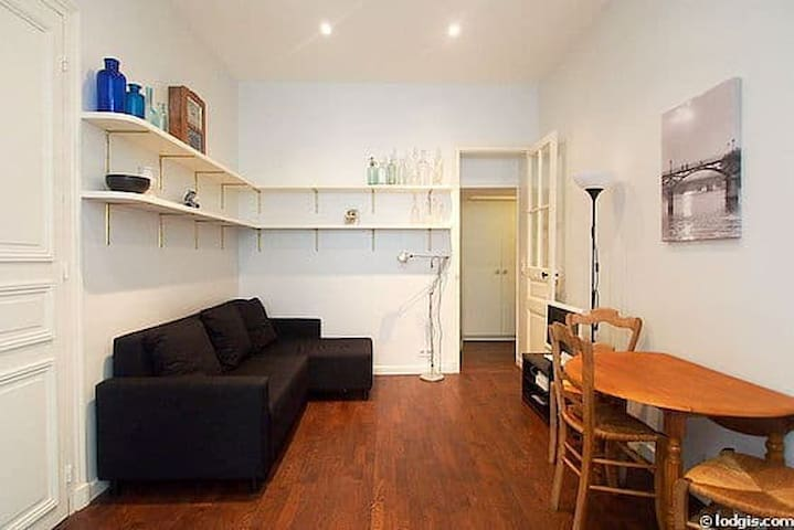 Cosy 30m2 flat with terrace