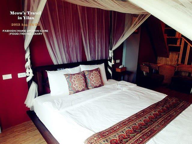 慵懶放鬆的峇里島房 - 宜蘭縣 - Bed & Breakfast