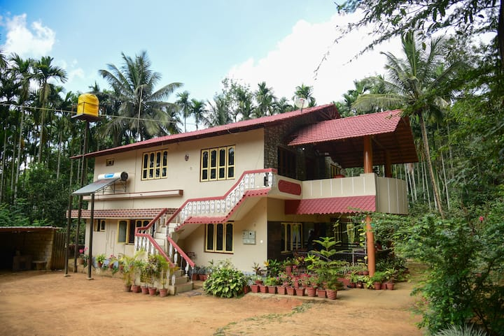 Coorg - Private Family Bungalow stay