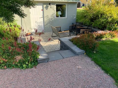 Lägenhet i Sundsvall, egen uteplats, P-plats