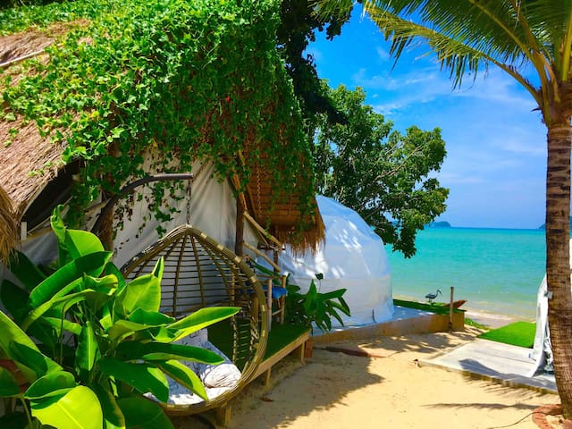 Absolutely fabulous little paradise. Private beach