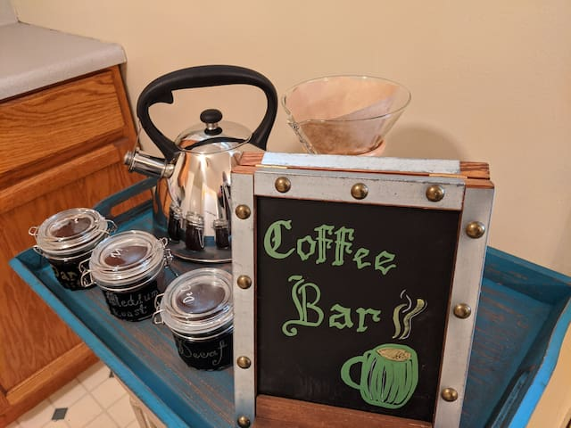 Entire House with King Bed and Coffee Bar