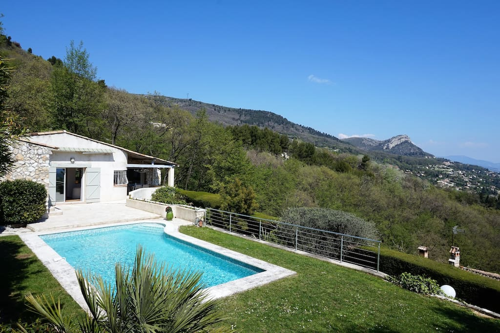 Jaw-dropping views across the Cote d'Azur