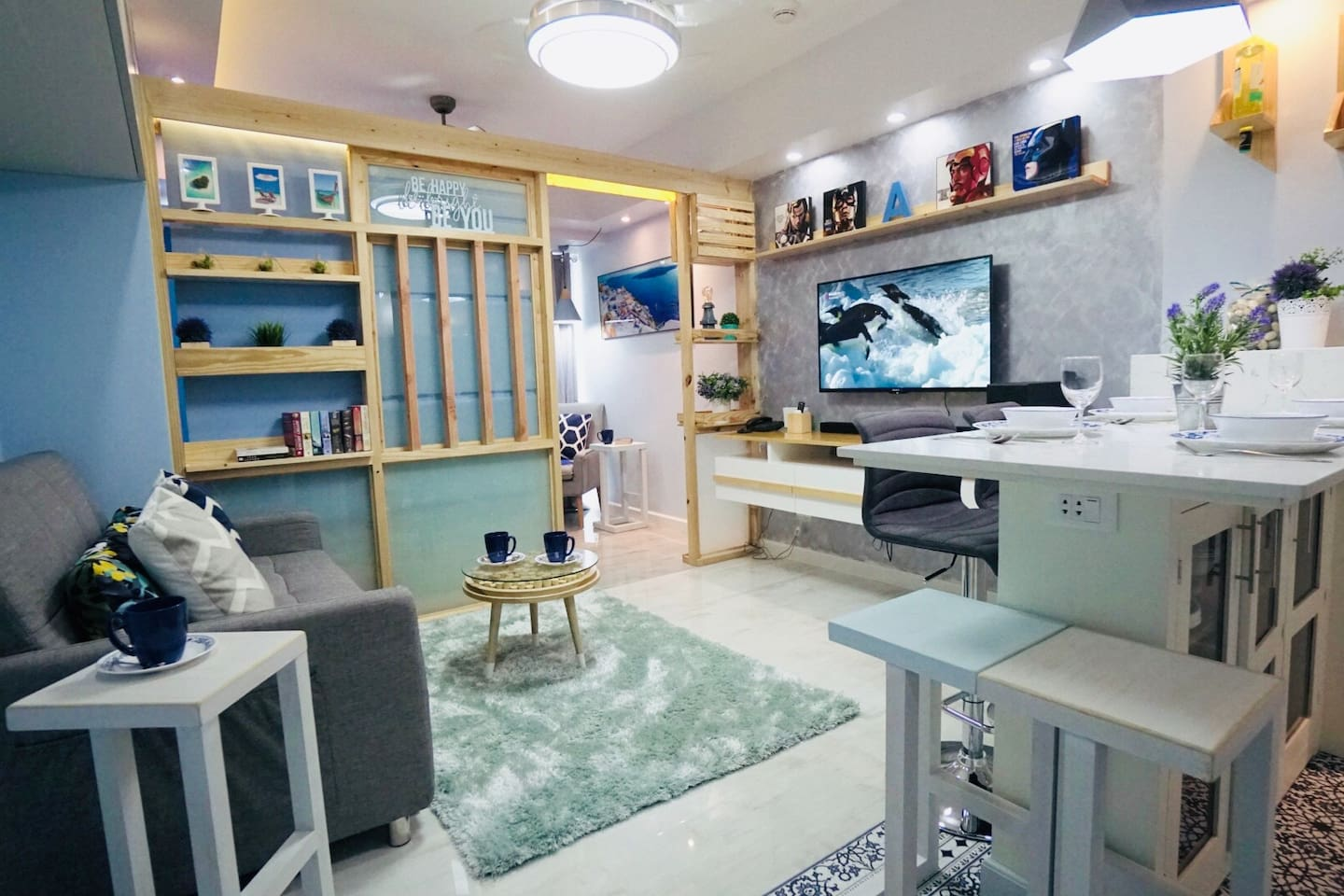 Stylish, bright & airy unit in the heart of Davao City.