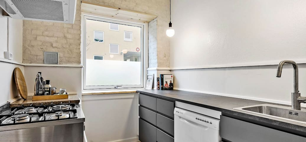 Apartment close to CBS and Flintholm metro st.