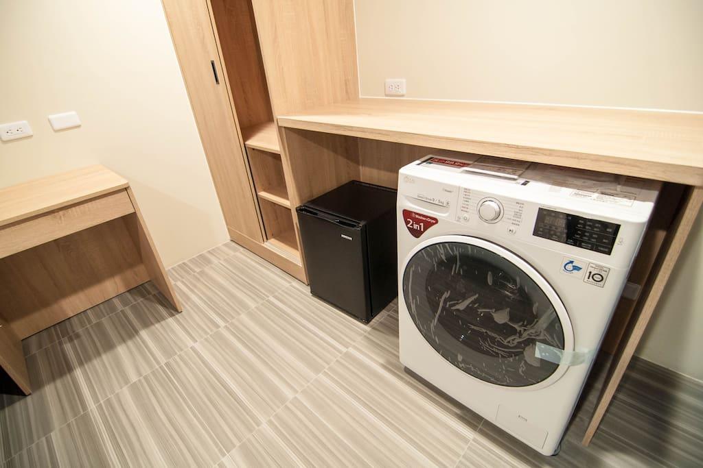 洗烘脫滾筒洗衣機