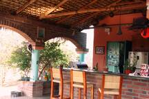 Kitchen Open Air Palapa