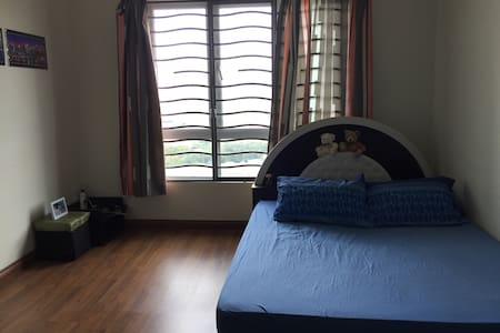 Cozy Queen-Sized Bed with KL View - Kuala Lumpur - Kondominium