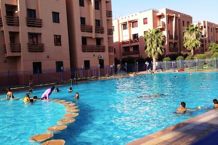 Appartement 3 pièces pour séjour détente - Marrakesch