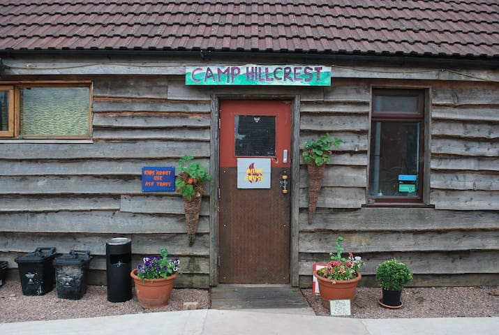 CampHillcrest Bunkhouse st briavels wye valley