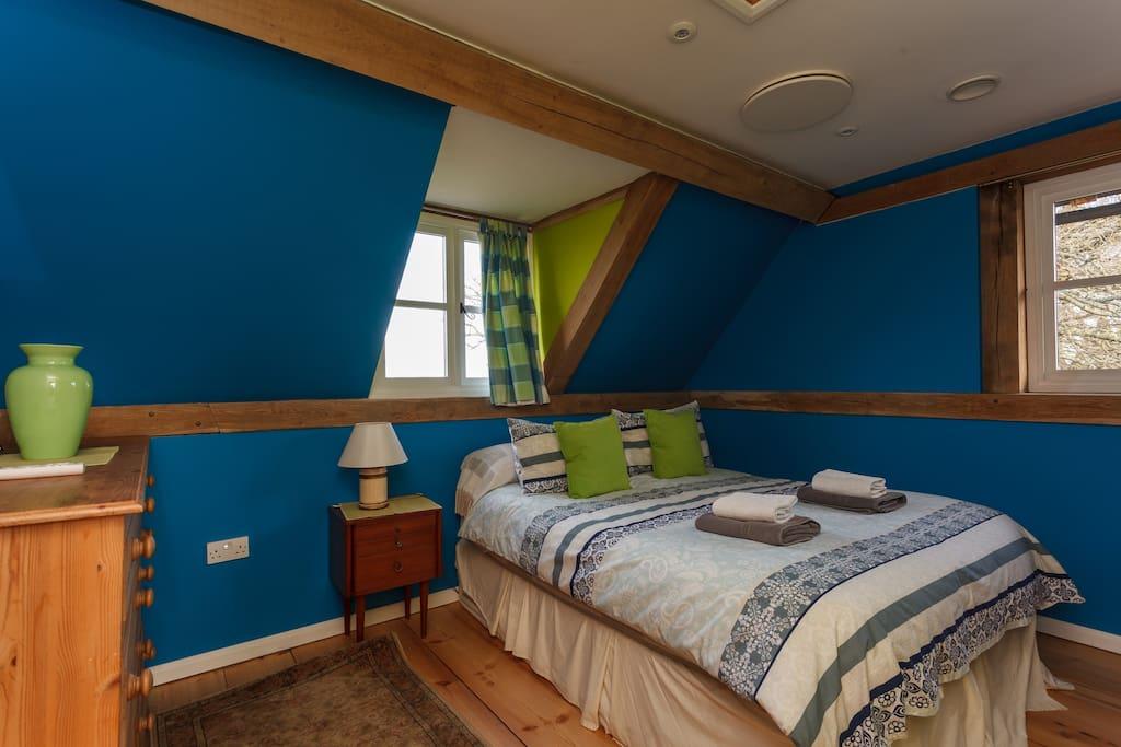 Bedroom 2. The 'Fair Trade' Room