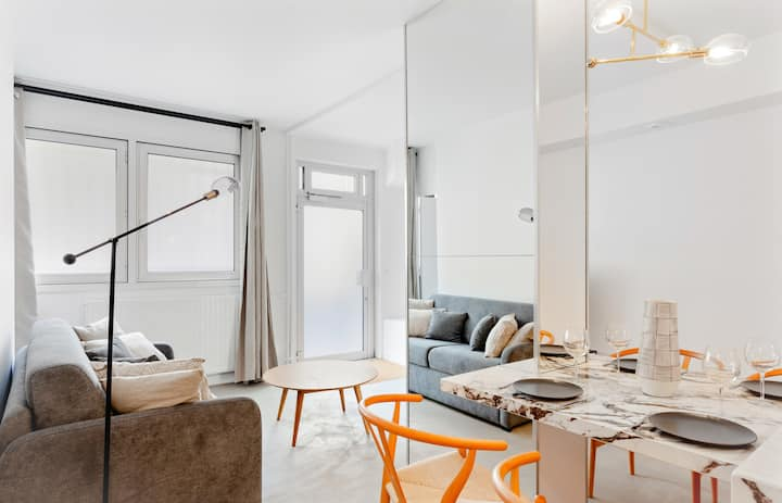 Beautiful apartment for 6 guests near the Eiffel Tower