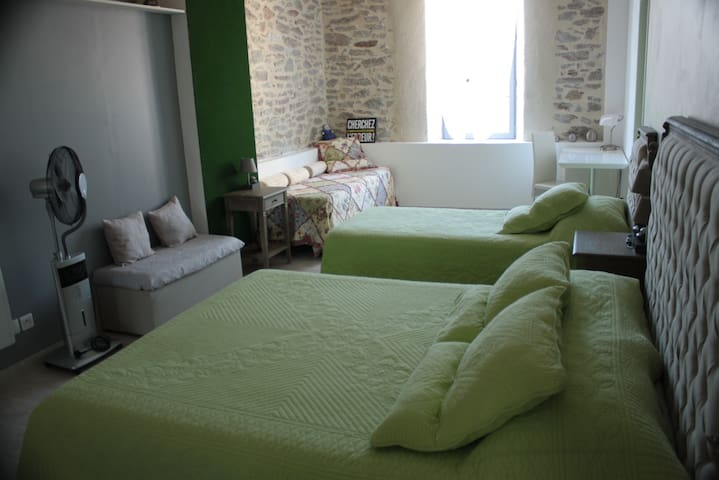 Le Parcours Cathare - Olonzac - Bed & Breakfast