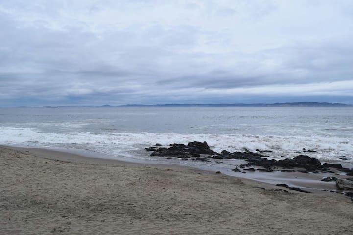 Cabaña frente Playa El Morro - Tome - Ev