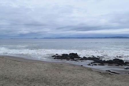 Cabaña frente Playa El Morro - Tome - Дом