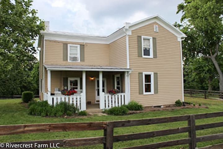 Historic River House - Elkton - Maison