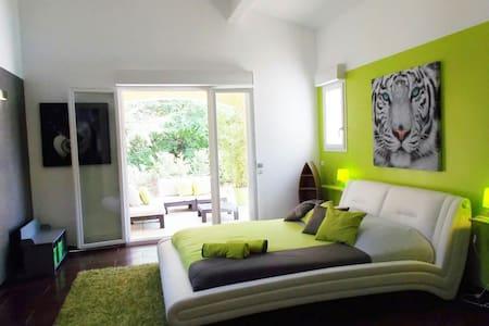 Belle chambre de 30m2 avec terrasse - Les Arcs - Hus