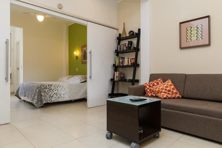 Fabulous apartment in hip Ipanema