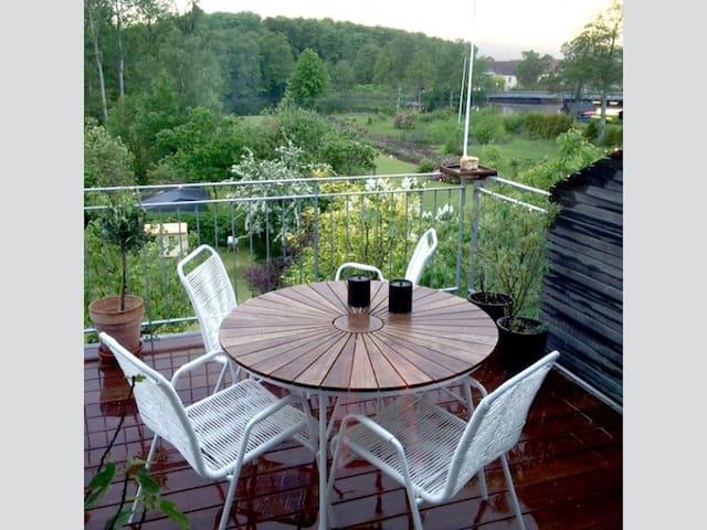 Skønt Bed & Breakfast med udsigt til Gudenåen - Ry - House