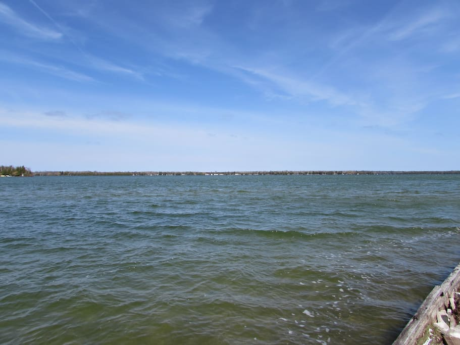 Grand Lake is 5660 Acre's
