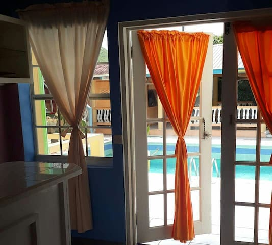 Bay heights double  rooms
