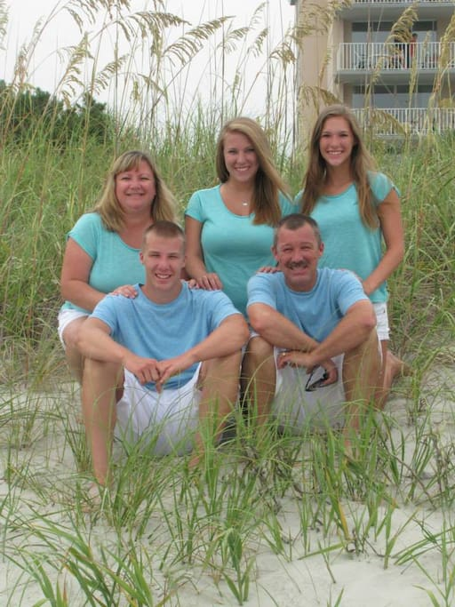 Our (Empty Nest) Family to Yours...WELCOME!!!