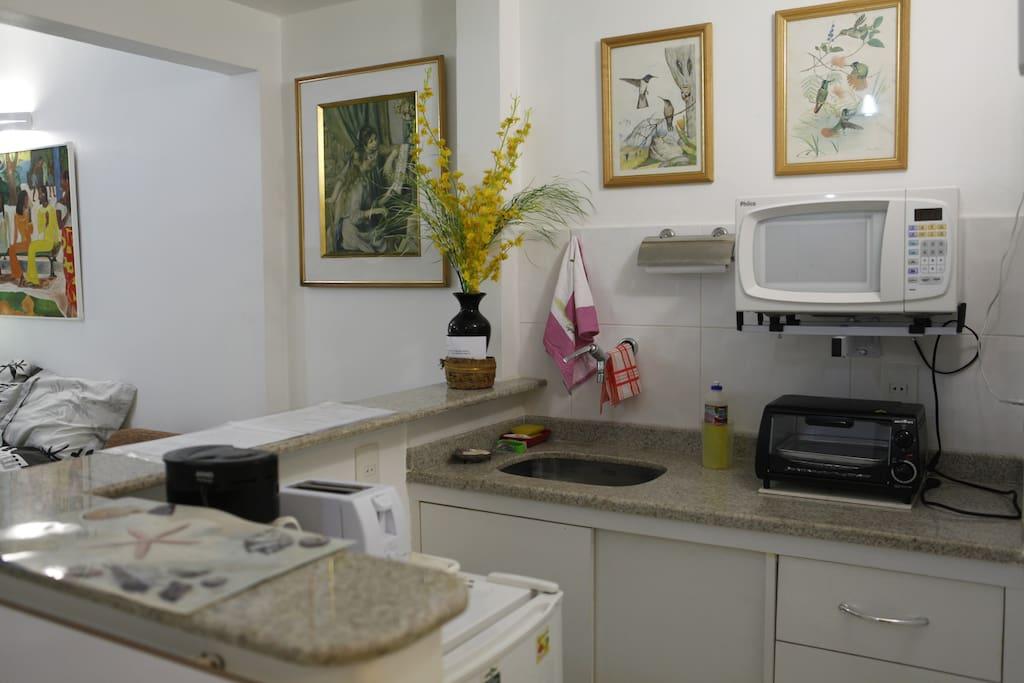 Pequena cozinha