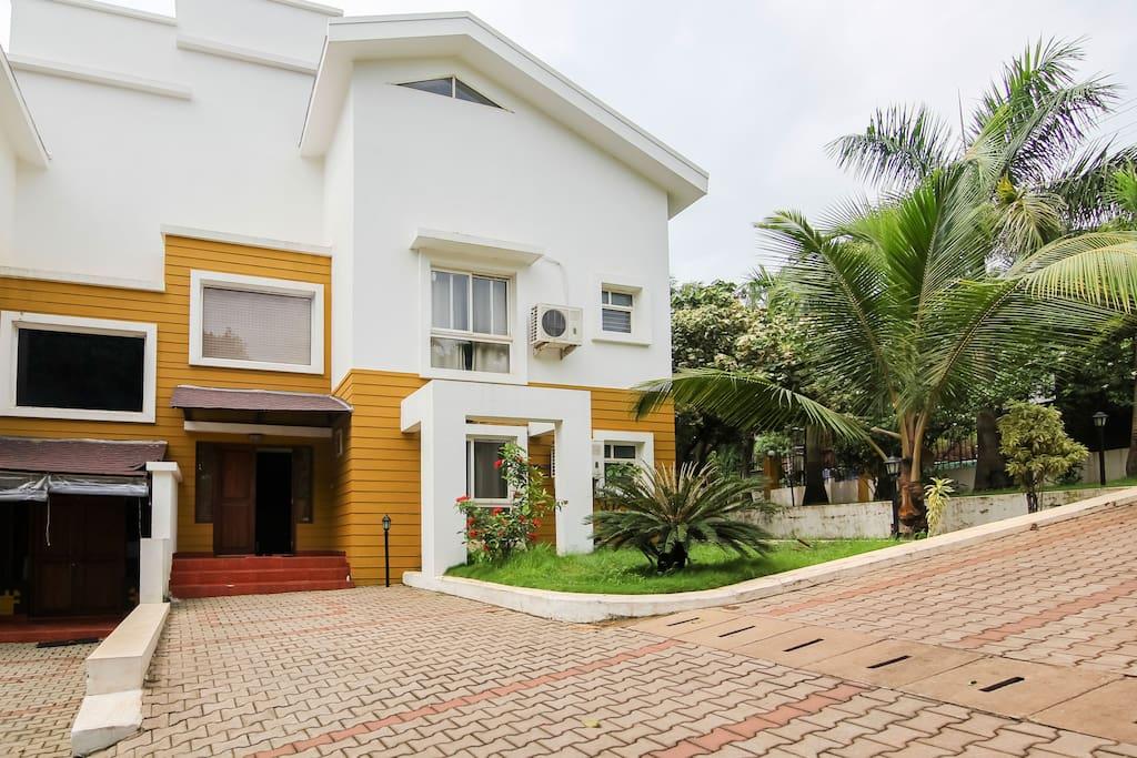 Exterior of Villa A1