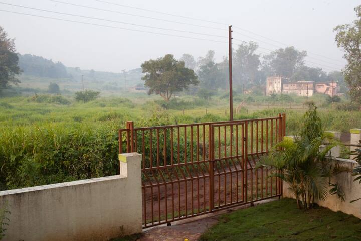 3 B/R bungalow in Karjat surrounded by Mountains.