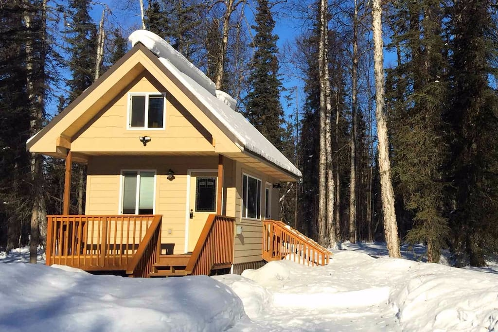 Front Cabin View in March