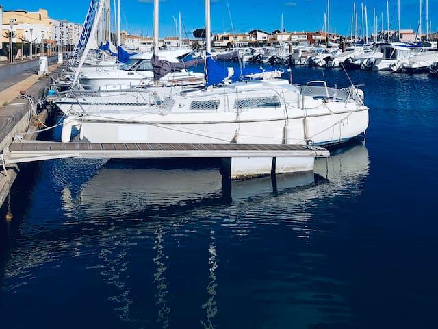 Voilier Cap d'Agde idéalement situé