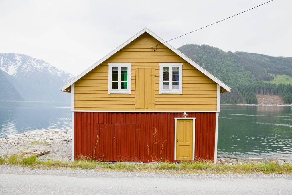 Naustet // The boathouse