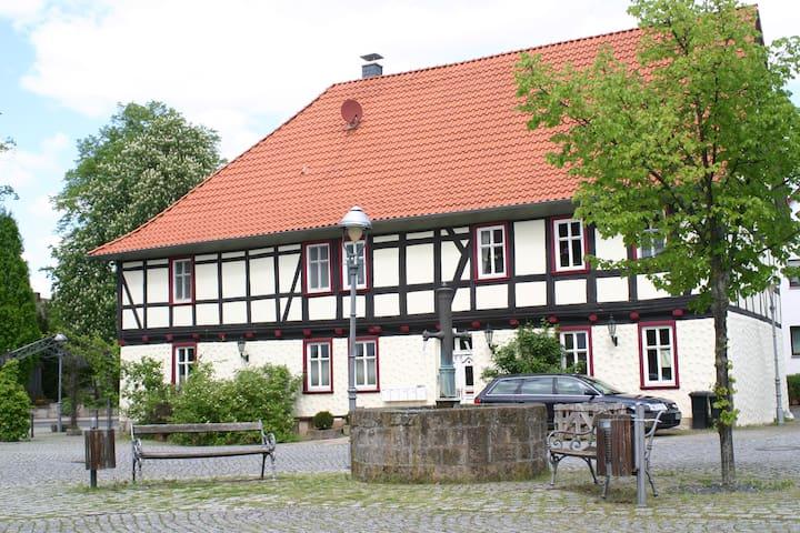 """Außergewöhnlich Ferienhaus """" Am Schloß """" Eichsfeld - Teistungen - Appartamento"""