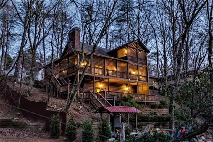 Angler`s Roost on the River | Ellijay, GA