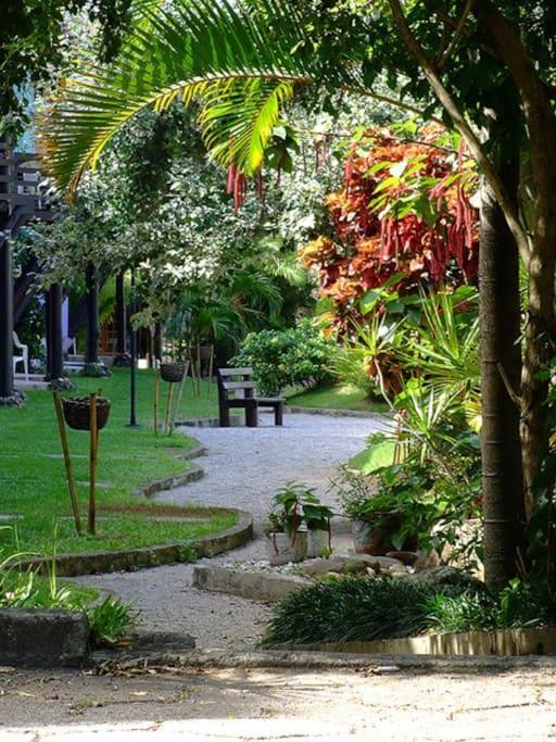 Lindos Jardins para descanso