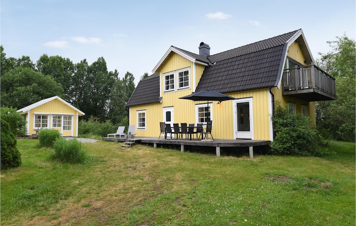 Beautiful home in Ed with WiFi and 2 Bedrooms