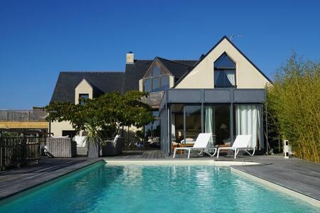 Amazing property overlooking the Guerande salt mar - Guérande - 別荘