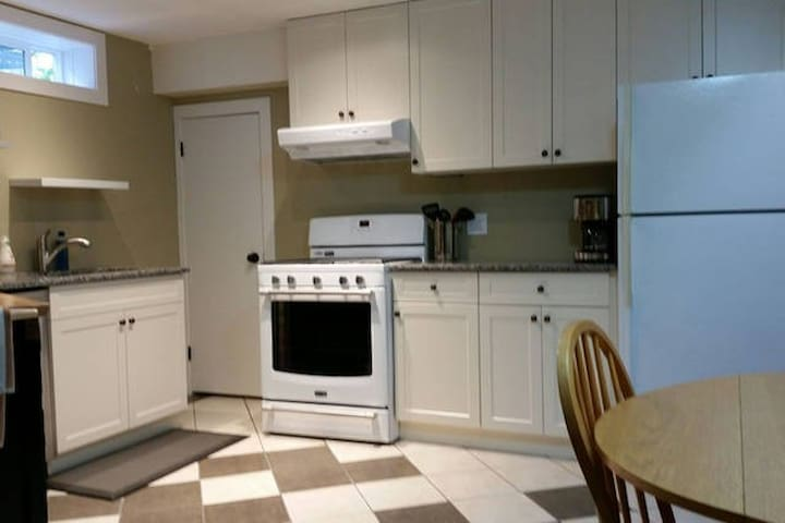 Kitchen for the suite