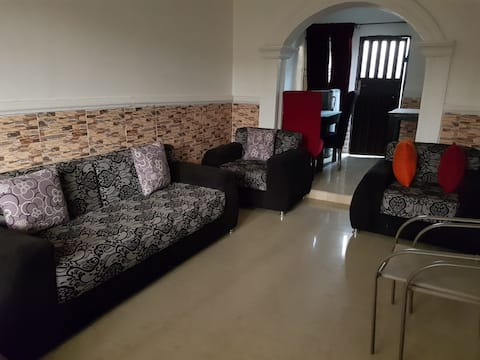 2 bedroom fully furnished gated apartment