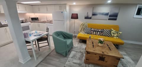 Entire apartment in a gorgeous basement