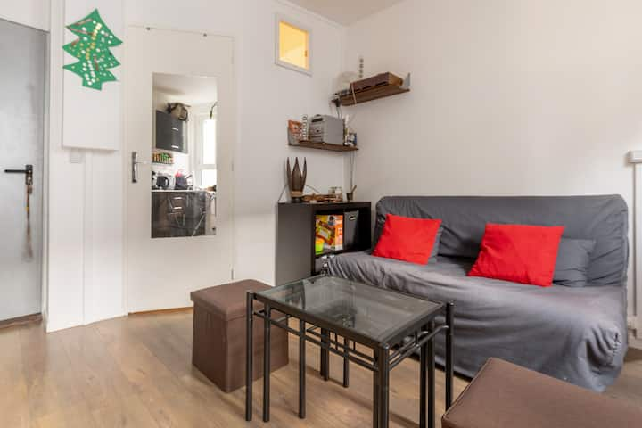 Pleasant and bright apartment, Paris 17th